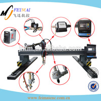 heavy duty gantry type cnc cutters/stainless steel cutting machines