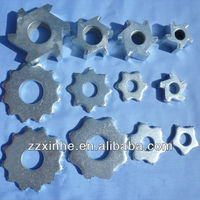 5tips,6tooth,8tips 12TIP scarifier tungsten carbide milling cutters tool construction machine cemented metal TCT concrete cutter