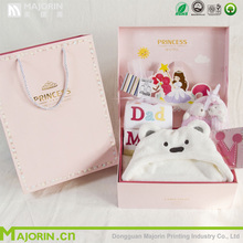 2016 Majorin custom lovely baby clothes packaging box with high quality for shopping for gift