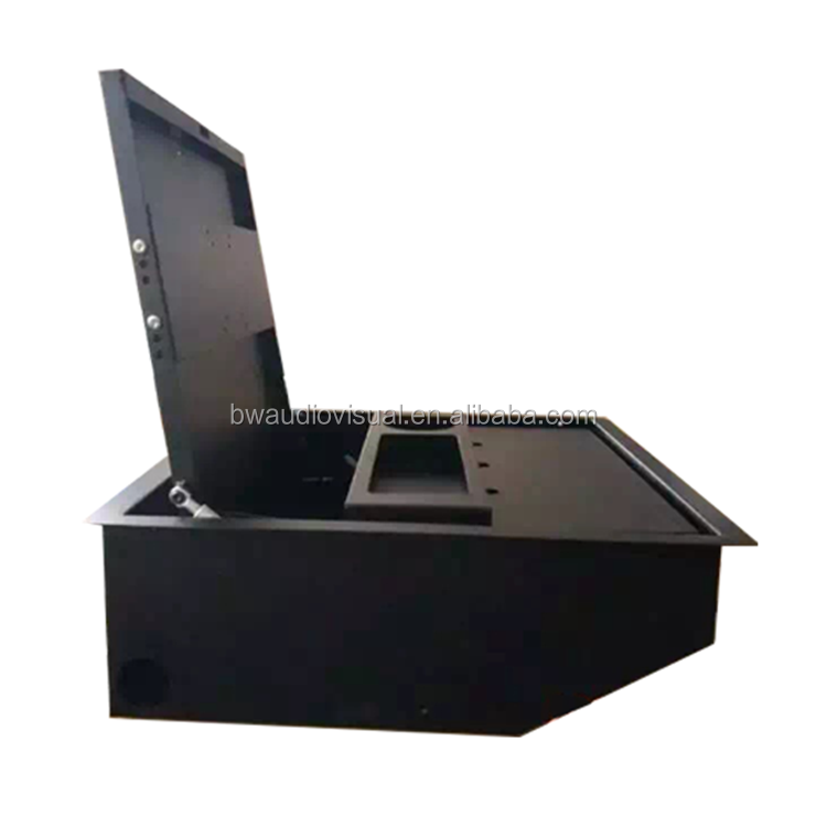 Excellent quality portable table hidden monitor lift for hospitalization guidance