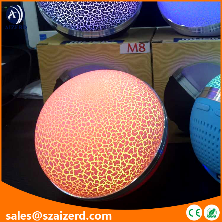 Multifunctional Ball Shaped Portable Wireless Bluetooth Speaker