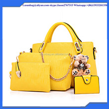 Best Selling Fashion Designer Woman Handbag Stylish PU Leather Lady Handbag Offer