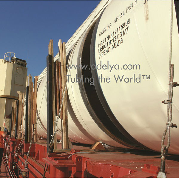 Large Diameter Steel Tubes for Water Supply