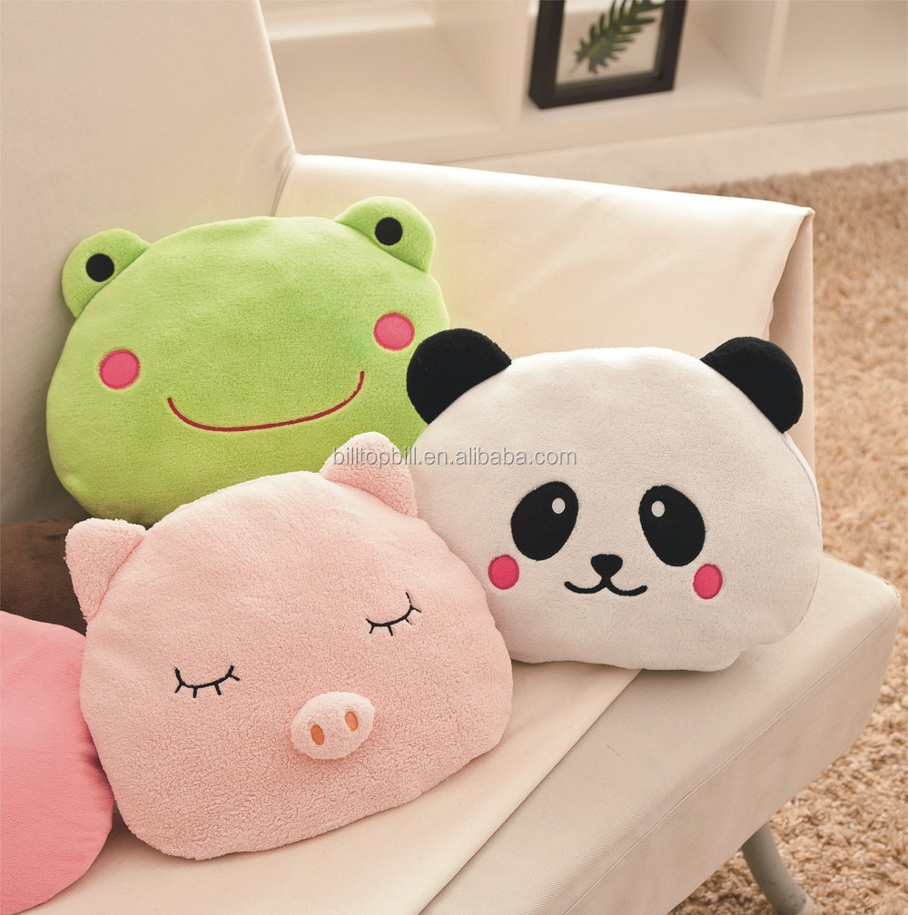 TYD002A Hot Water Bottle with Animal Plush Cover