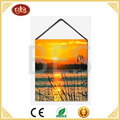 hot selling small size painting with river scenery design for home wall decor