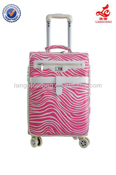 leisure luggage parts Carry on Suitcase trolley case upright luggage