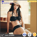 Custom logo women bikinis China swimwear manufacturer black brazilian bikini girls swimming