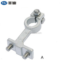 12V brass positive and negative forging car battery terminals clamps auto aluminum Punching battery terminals accessories