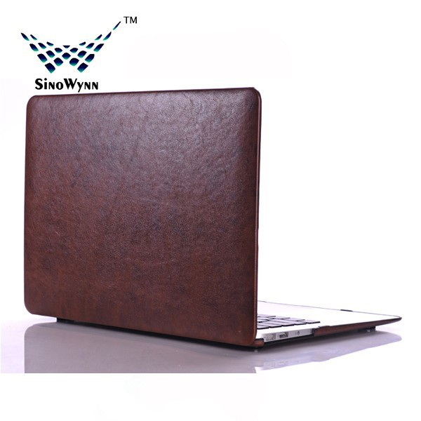 Universal Leather Tablet Sleeve for Macbook 13.3'' Brown