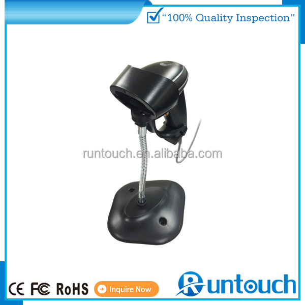 Runtouch POS Rechargeable USB Wireless WIFI Laser Scan Cordless Barcode Scanner Reader 433MHZ
