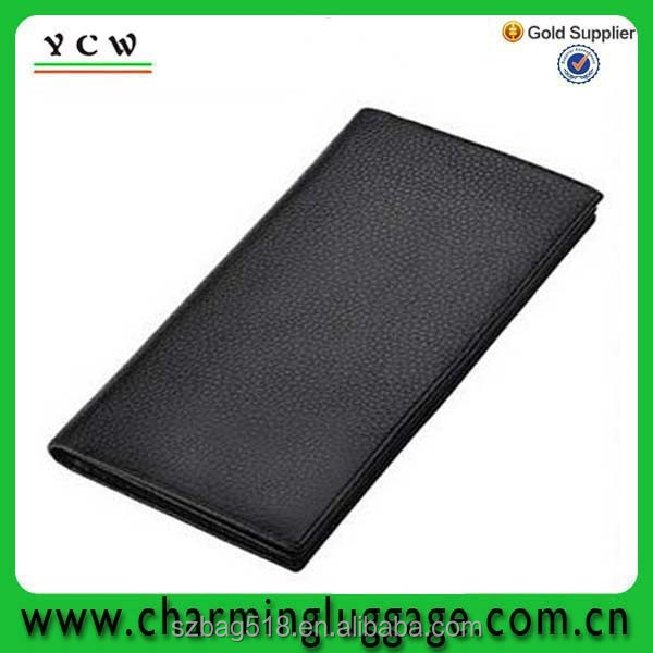 pu leather wallets wholesale/travel magic passport money clip man leather wallet