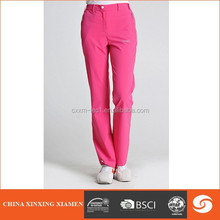 2015 Cheap Women Cotton Spandex Casual Long Plain Blank women Sports Track Pants&Trousers With Side Pocket