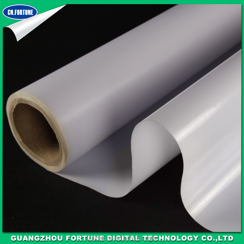 Advertising Material Glossy Backlit PVC 440g flex banner eco solvent advertising printing material