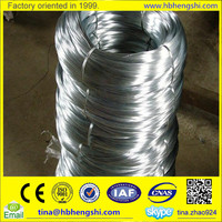 High tension hot dippped galvanized steel wire binding wire from real factory