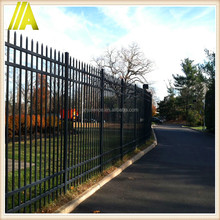 China factory of 8-10 feet high backyard Aluminum residential fence
