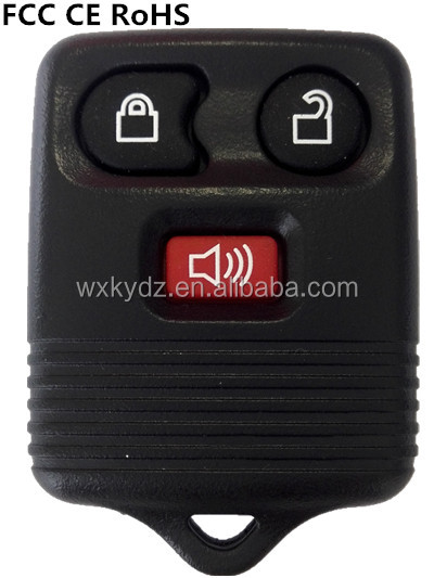 Best price 3 button smart remote key case keyless entry for Ford Ecoline