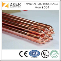 Sample Free Copper Plated Steel Ground Rod for ELectrical