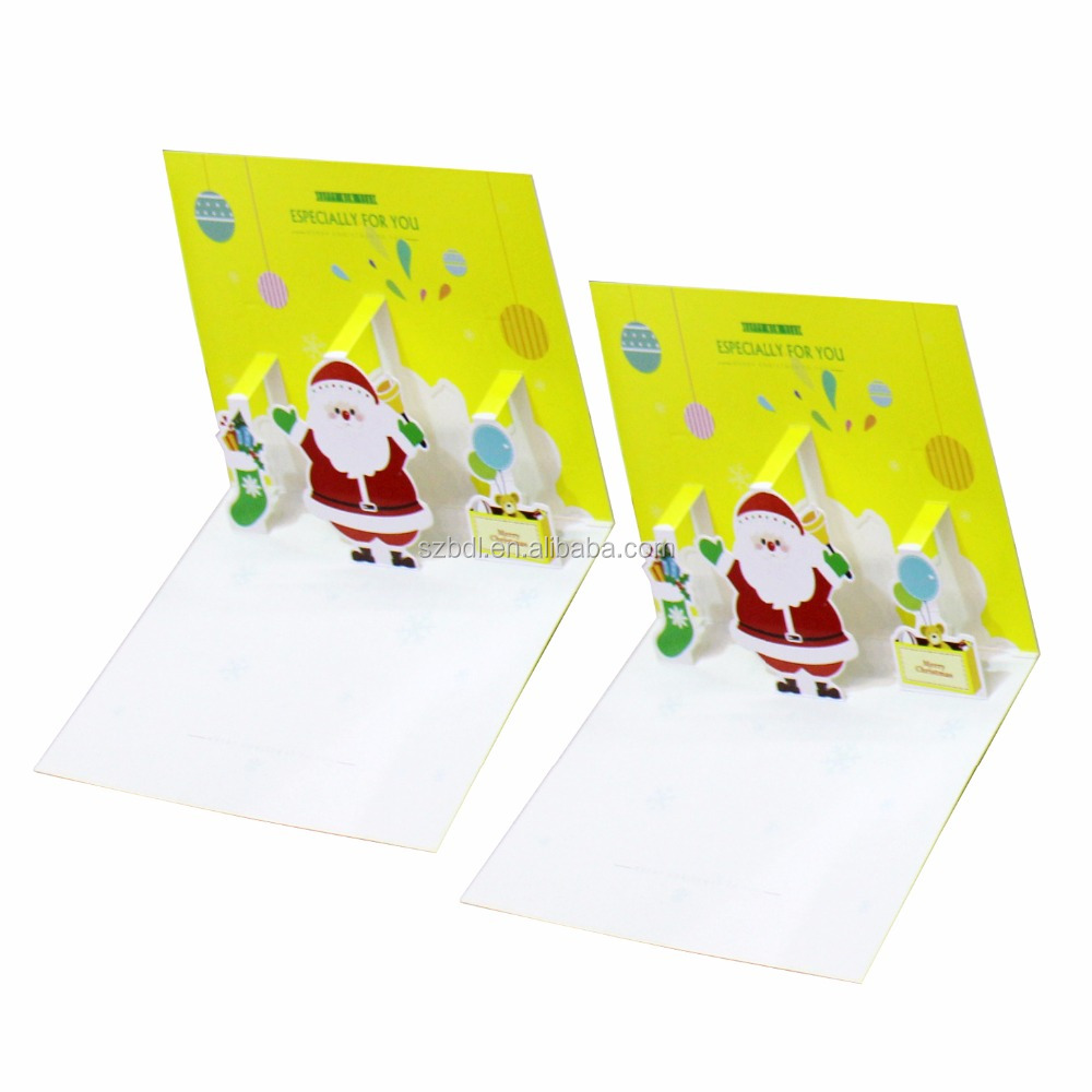 Factory New Design types of different size bulk video greeting cards