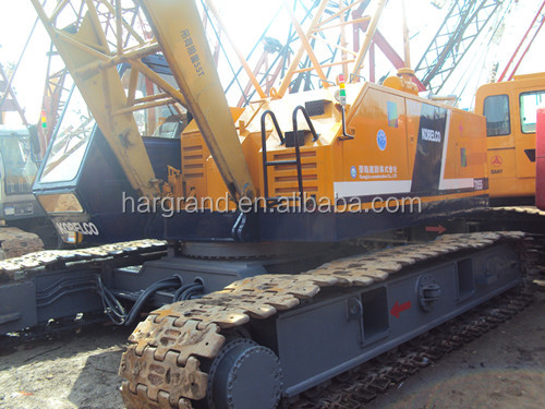 55 ton Japan used Kobelco 7055 crawler crane for sale in shanghai china