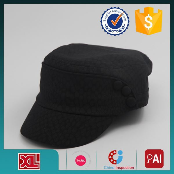 Latest Arrival OEM Quality custom /design embroidered military hat from direct manufacturer