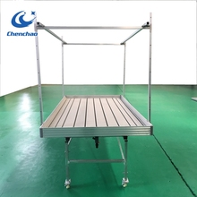 CHENCHAO2018 cheap commercial greenhouse growing tables