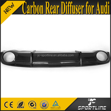 A7 Carbon Fiber Rear Bumper Car Diffuser for Audi A7 RS7 2011-2014