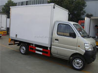 hot sale 1 ton changan gasoline mini cargo van truck