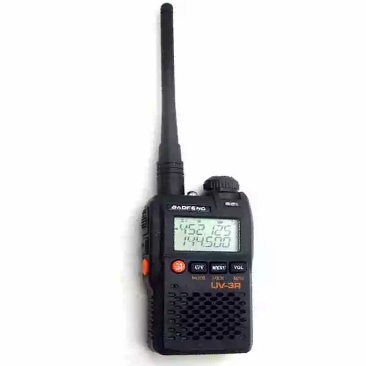 Handheld Baofeng UV-3R+ digital Mobile Walkie Talkie UHF&VHF FM Two Way Radio