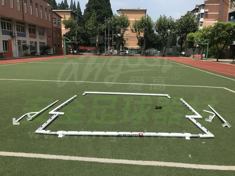 New products foldable aluminum football goals for sale