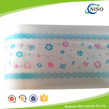 Shrink laminated pe film for baby diaper raw material making