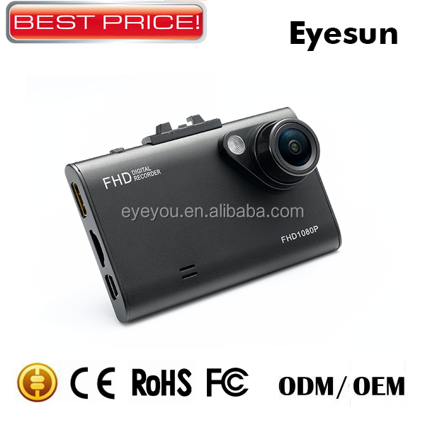 H.264 1080P Install Video Camera In Car,2.7inch LCD Car DVR,Night Vision Parking Mode
