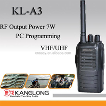 [Black] 1500mAh Li-ion battery 16channel 7 Watts 2 way radio