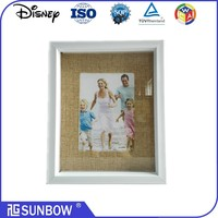 "wholesale cheap 8*10"" Picture Photo Frame best frame 3D shadow box frame for wall art"