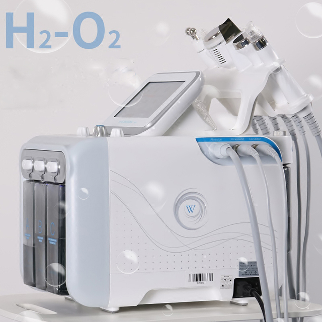 Newest H2-O2 Diamond Peeling and Water Jet Beauty Aqua Hydra Dermabrasion Peel Machine