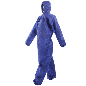 Factory Disposable PP protective work coveralls with Hoods