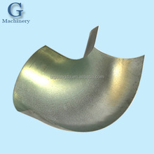 Customized Steel deep drawn Duct Elbow For Ventilation System