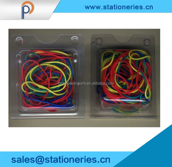 Colorful round rubber band