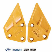 TIG Brand ! Excavator Hyundai Bucket Teeth, Protector, Side Plate, Side Cutter for sale
