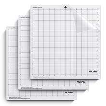 Nicapa Cutting Mat for Silhouette Cameo 3/2/1 Cut Mats Replacement(Standardgrip,12x12 inch,3pcs/pack)