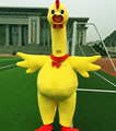 Hola screaming chicken mascot adult costume/chicken mascot costume