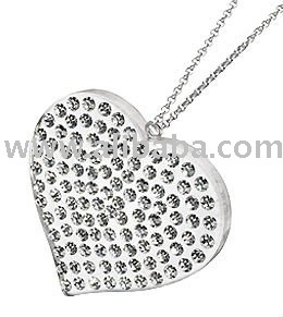 Jewelry with rhinestones