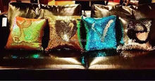 2016 New Arrival Hotsale VR Magic Cusion Pillow Household Mermaid Reversible Sequin Pillow Color Changeable PP Sequin Cusion