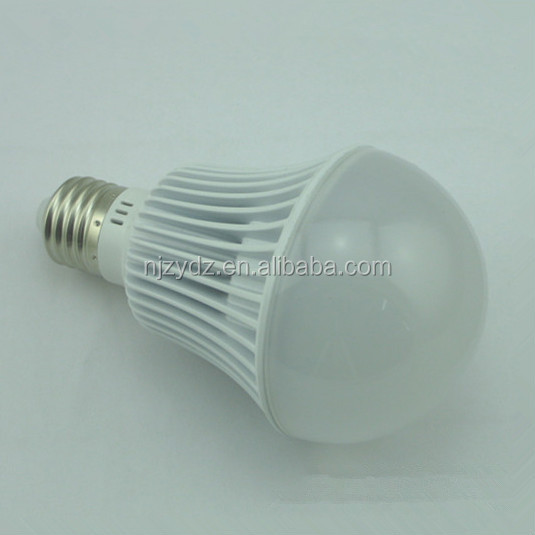 Plastic coated aluminum A70 led bulb parts