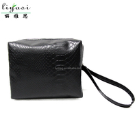 Wholesale Portable Travel PU Leather Cosmetic Bag, Customized LOGO Ladies Makeup Bag,Toiletry Organizer Pouch Bag