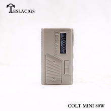 2018 Teslacigs newest vape mod custom available Tesla COLT MINI 80W mod vaping box mods from Teslacigs factory