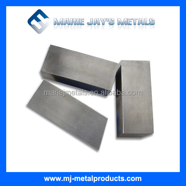 Pure Tungsten Block High Melting Point Tungsten Block / High Density Tungsten Block / Low Vapor Pressure