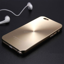 Luxury Shinny Metal Aluminium + PC Shell Phone Cover For APPLE iPhone 4 4s 5 5s Fashion Mobile Case