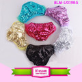 2017 Girl shorts gorgeous boutique wholesale bloomer shiny panties spandex diaper cover sparkle boys sequin bloomers wrap set