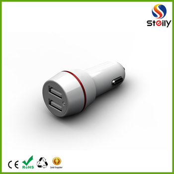 Wholesale mobile phone Portable mini single USB car charger,QC 2.0