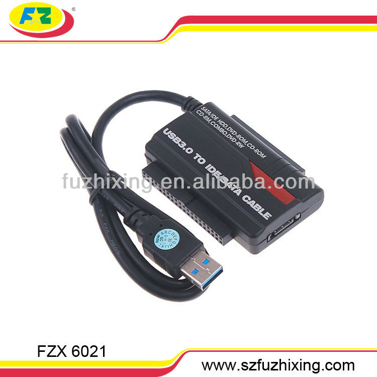 "USB 3.0 to 2.5""3.5""HDD SATA IDE Adapter Converter Cable OTB For 2.5""3.5"" SATA IDE HDD"
